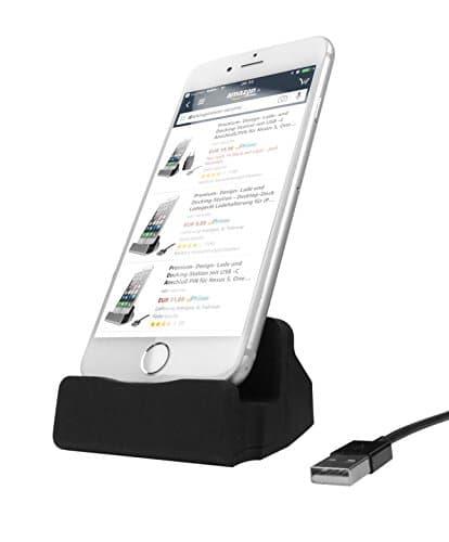 THEVERY® Ladestation für Smartphone Micro USB Anschluß