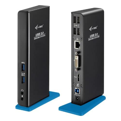i-tec USB 3.0 Dual Docking Station Full HD 2048×1152