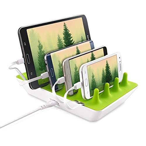 GELID Multi USB Ladestation 4xUSB fuer Smartphone Tablet EBook