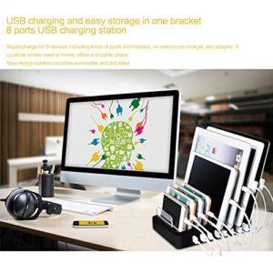 8 Port USB Ladestation & Ladegerät