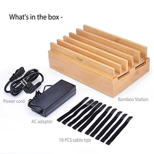 avantree ladestation 10 port quick charge usb 3 0. Black Bedroom Furniture Sets. Home Design Ideas