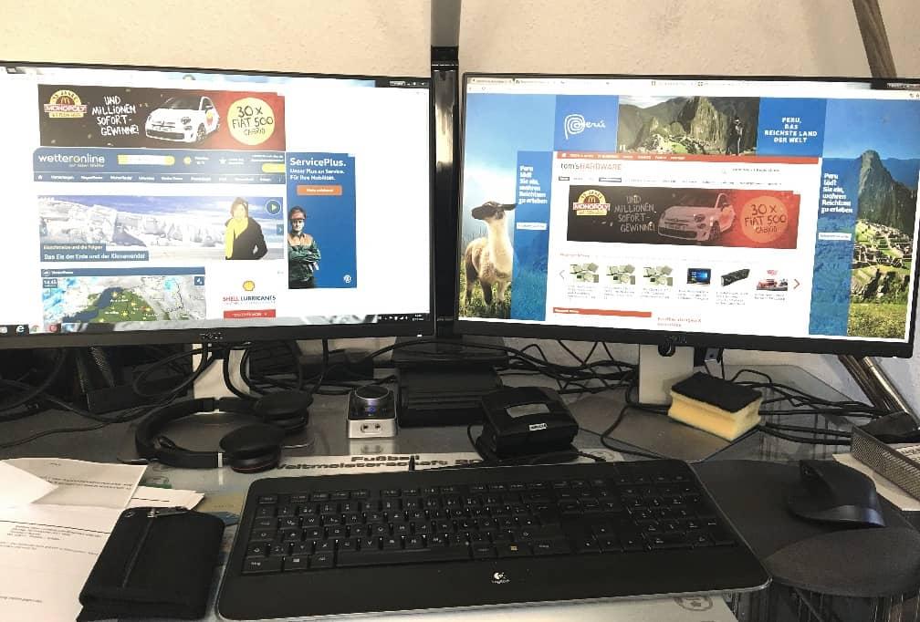 Dell 2 Monitore