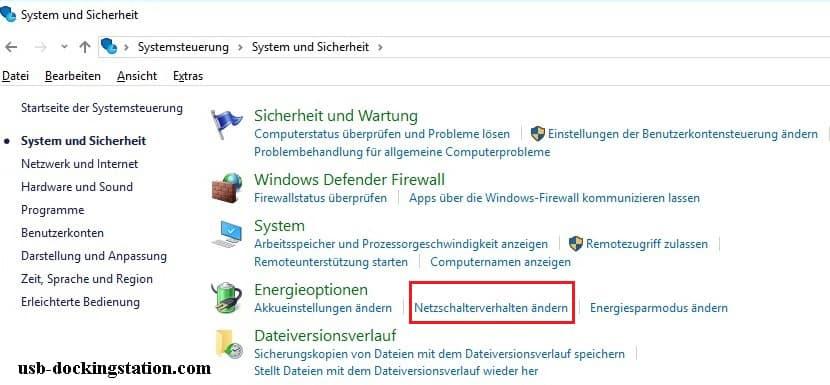 notebook zuklappen ohne standby windows 10